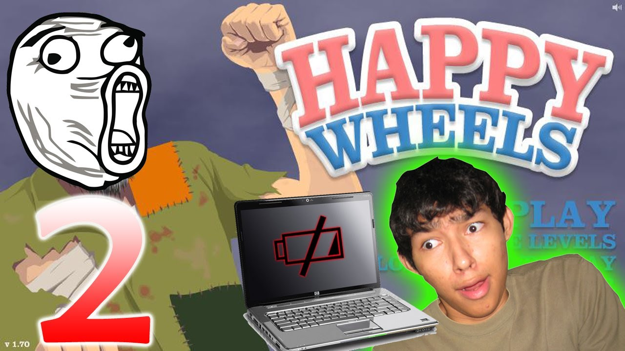 Let's play Happy Wheels 2 online